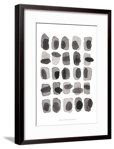 Grey Slate II-Nikki Galapon-Framed Art Print
