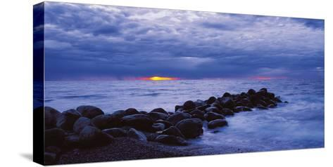 The Blue Hour-Bent Rej-Stretched Canvas Print