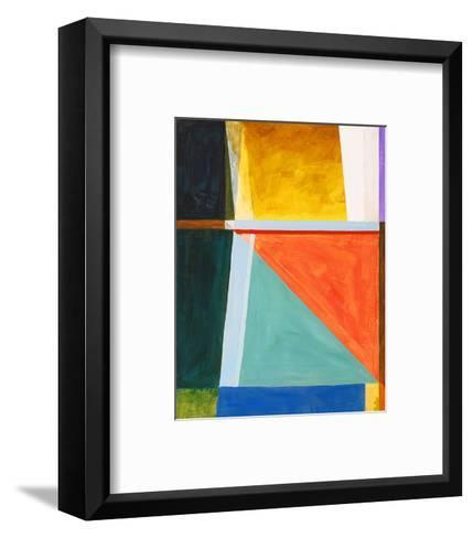August Sailing Afternoon--Framed Art Print
