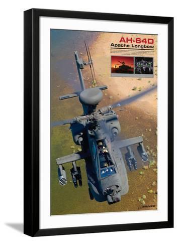 AH-64D Apache Longbow--Framed Art Print