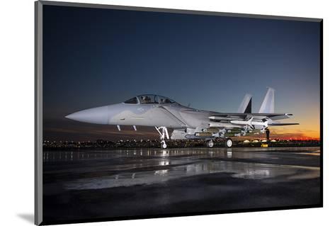 Advanced F-15 multi-role fighter--Mounted Art Print