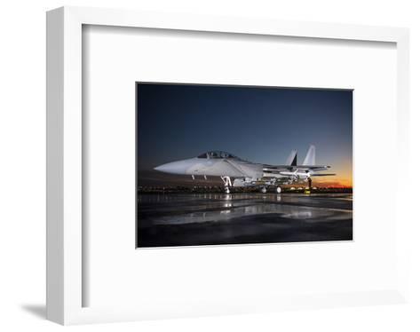Advanced F-15 multi-role fighter--Framed Art Print