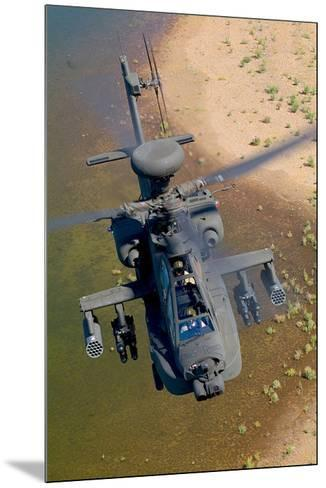 AH-64D Apache Longbow--Mounted Art Print