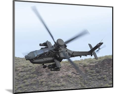 AH-64E Apache helicopter--Mounted Art Print