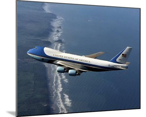Boeing 747-200B Air Force One--Mounted Art Print