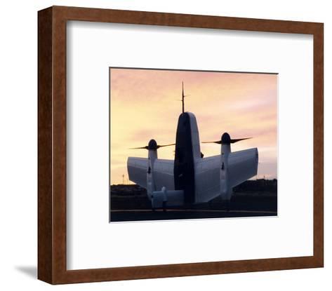 Boeing Heliwing aircraft--Framed Art Print