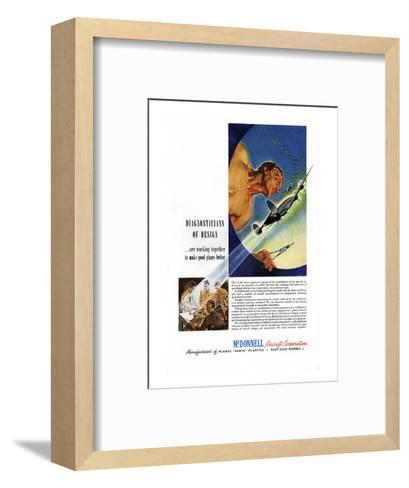 Diagnosticians of Design McDonnell--Framed Art Print