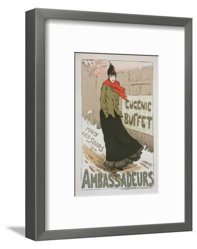 Eugénie Buffet - Ambassadeurs-Lucien Métivet-Framed Art Print
