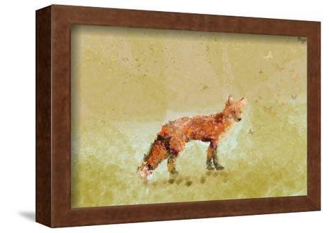 Butterfly Fox-Claire Westwood-Framed Art Print