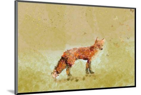 Butterfly Fox-Claire Westwood-Mounted Art Print