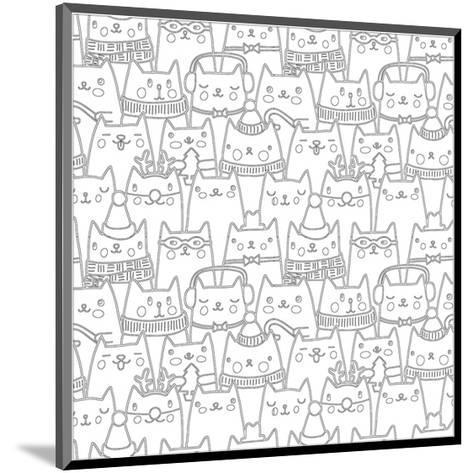 Cats Coloring Art--Mounted Coloring Poster
