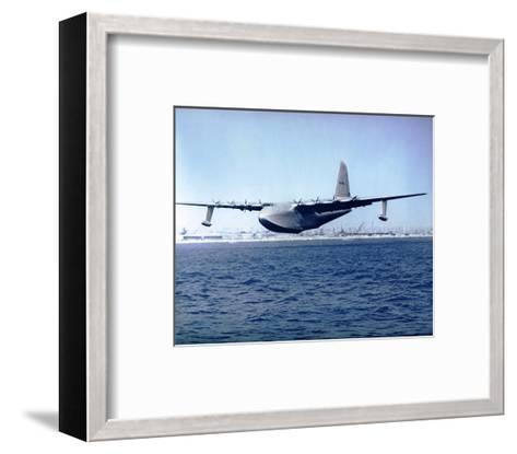 H-4 Hercules Spruce Goose--Framed Art Print