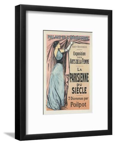 La Parisienne du Siècle-Jean-Louis Forain-Framed Art Print