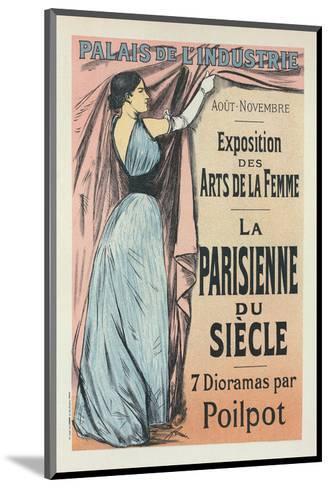 La Parisienne du Siècle-Jean-Louis Forain-Mounted Art Print