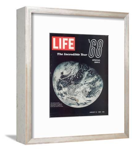 LIFE '68 the incredible year--Framed Art Print