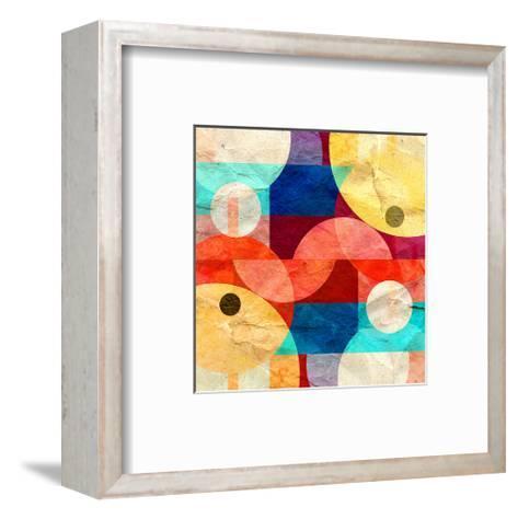 Geometric Geometry--Framed Art Print