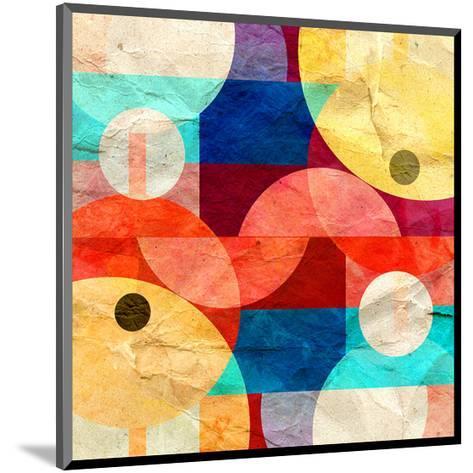 Geometric Geometry--Mounted Art Print