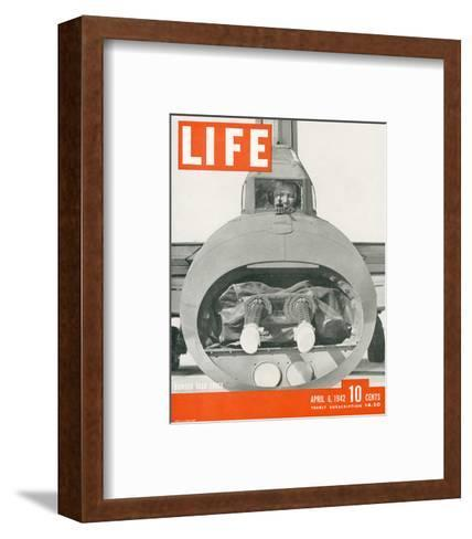 LIFE Bomber Taks Force 1942--Framed Art Print