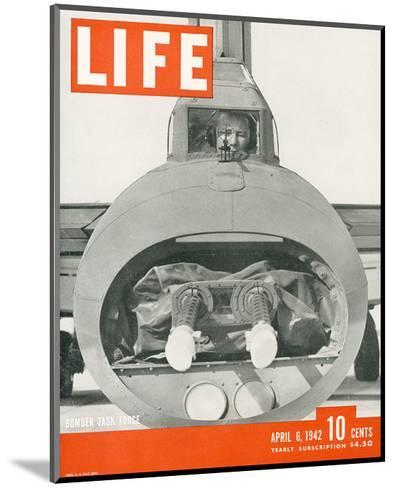 LIFE Bomber Taks Force 1942--Mounted Art Print