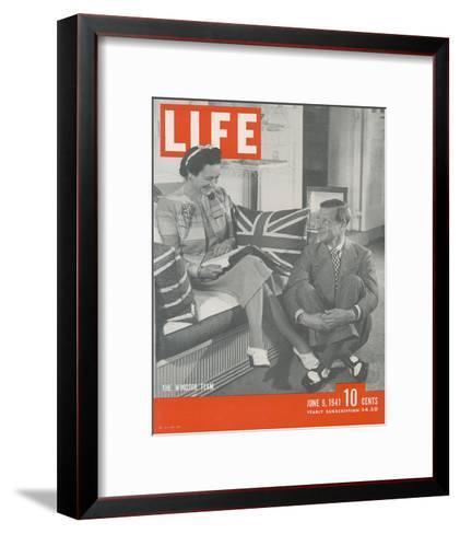 LIFE Duke & Duchess of Windsor--Framed Art Print