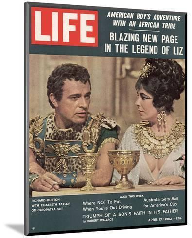 LIFE Burton-Taylor Cleopatra--Mounted Art Print