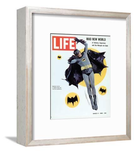 LIFE Batman Mad New World 1966--Framed Art Print