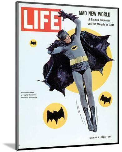 LIFE Batman Mad New World 1966--Mounted Art Print