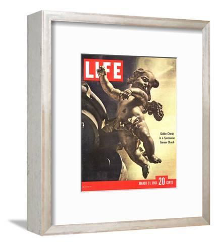 LIFE German Rococo Putto 1961--Framed Art Print