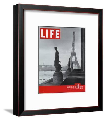LIFE Paris Eiffel Tower 1946--Framed Art Print