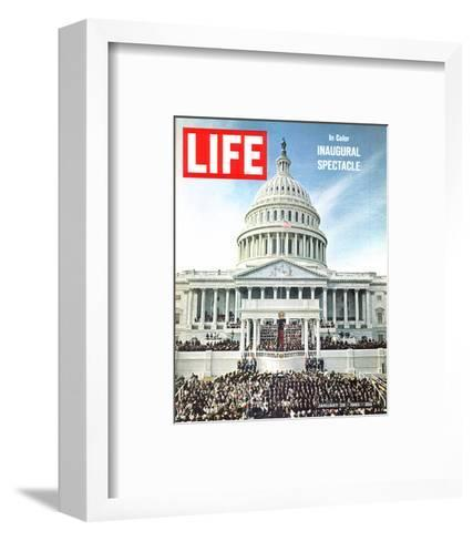 LIFE Inaugural Spectacle 1965--Framed Art Print