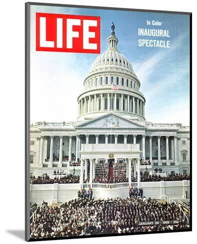 LIFE Inaugural Spectacle 1965--Mounted Art Print