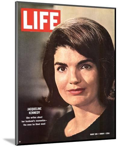 LIFE Jacqueline Kennedy 1964--Mounted Art Print