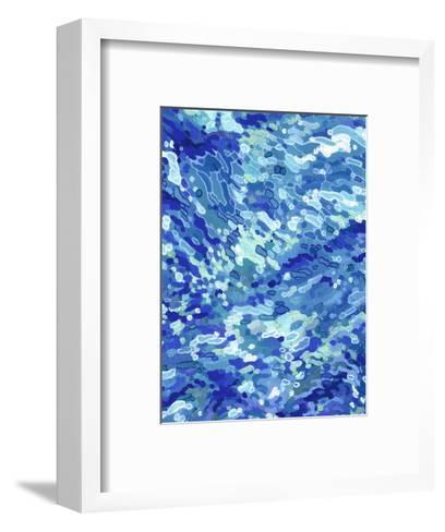 Colliding Waves-Margaret Juul-Framed Art Print