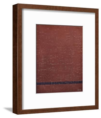 Silent Music (Mystery)-Kara Smith-Framed Art Print