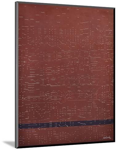 Silent Music (Mystery)-Kara Smith-Mounted Art Print
