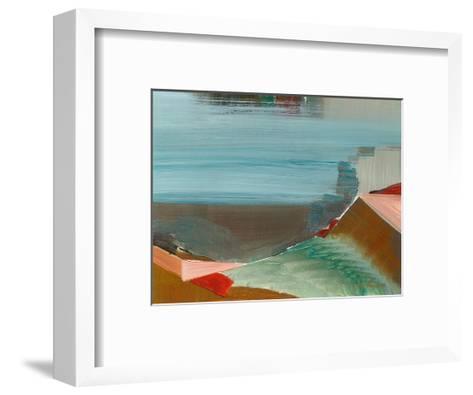 Jeweled Ledge-Joan Davis-Framed Art Print