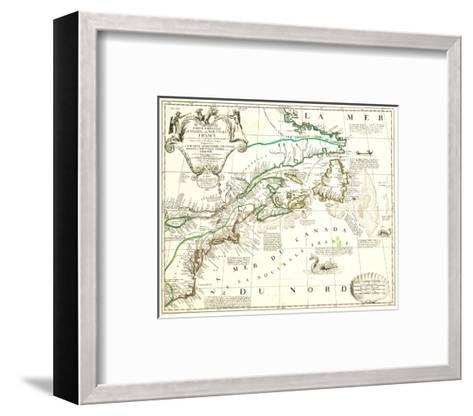 Nouvelle France Québec Canada-Jean Baptiste Nolin-Framed Art Print