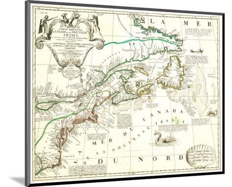Nouvelle France Québec Canada-Jean Baptiste Nolin-Mounted Art Print