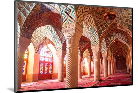 Nasir al-Mulk mosque Shiraz Iran--Mounted Art Print