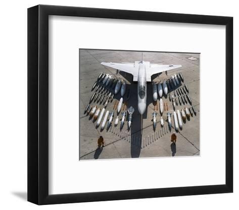 Vigilante Mach 2 bomber--Framed Art Print