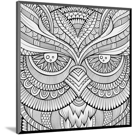 Symmetric Wing Arches Coloring Art--Mounted Coloring Poster