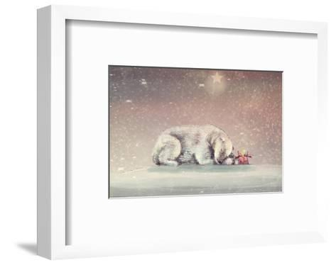 Waiting-Claire Westwood-Framed Art Print