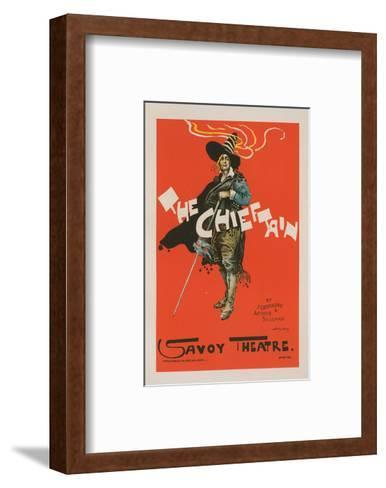 The Chieftain - Savoy Theatre-Dudley Hardy-Framed Art Print