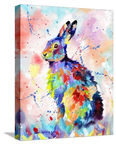 Color Hare-Sarah Stribbling-Stretched Canvas Print
