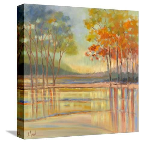 Flowing Water-Libby Smart-Stretched Canvas Print
