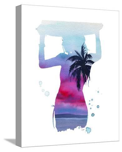 Surf?s Up-Jessica Durrant-Stretched Canvas Print