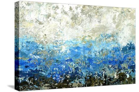 Indigo Equation-Jack Roth-Stretched Canvas Print