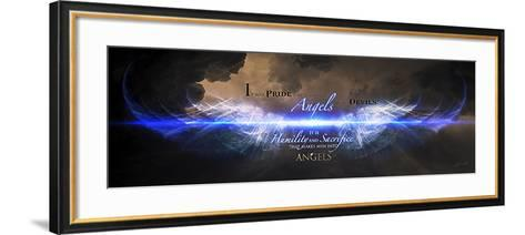 Men Into Angels-Jason Bullard-Framed Art Print