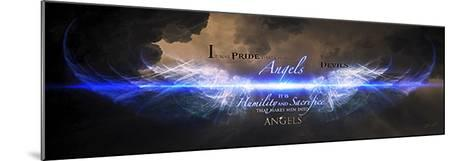 Men Into Angels-Jason Bullard-Mounted Art Print