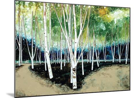 White Trees-Stuart Roy-Mounted Art Print